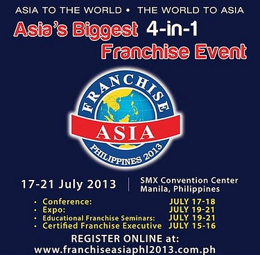 Franchise Asia 2013 to exhibit over 400 franchise brands