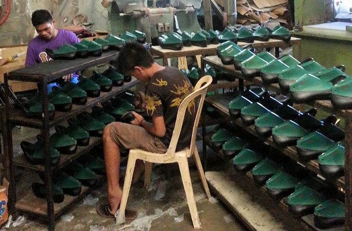 shoe production at Medz